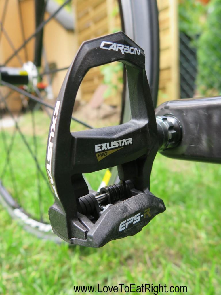 Yet another highlight: Exustar Pro (176g) a carbon/titanium combo