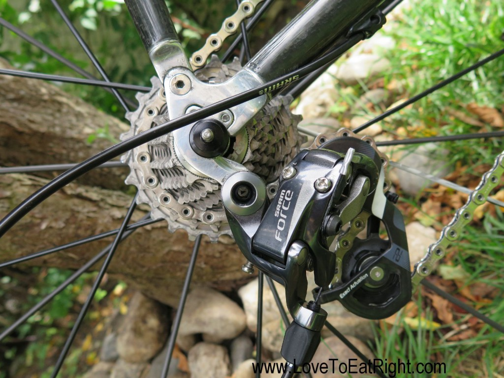 Sram Froce 22 deraileurs and the lightest casette available Sram XG-1190 11-26 (155g)